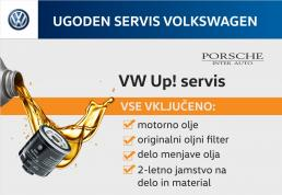 VW servis: menjava olja VW Up! 1.0